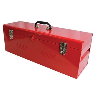 Faithfull Metal Heavy-Duty Toolbox & Tote Tray 26in