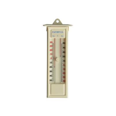 Faithfull Thermometer Press Button Max-Min