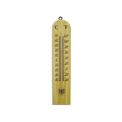 Faithfull Thermometer Wall Wood