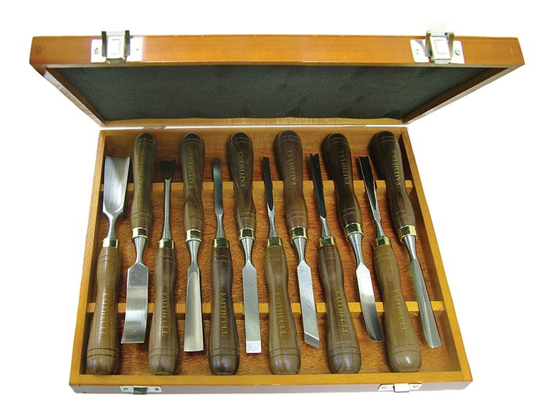 Woodcarving Set in of 12 in Case