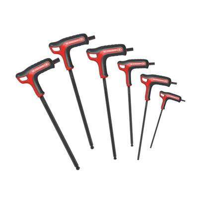 Facom P-Shaped Hex Key Set, 6 Piece