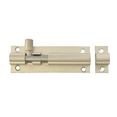 Forge Door Bolt - Aluminium