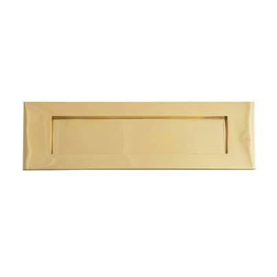 Forge Letter Plate - Victorian Brass 254mm
