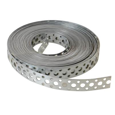 Forgefix Builder's Galvanised Fixing Band 20mm x 1.0 x 10m Box 1
