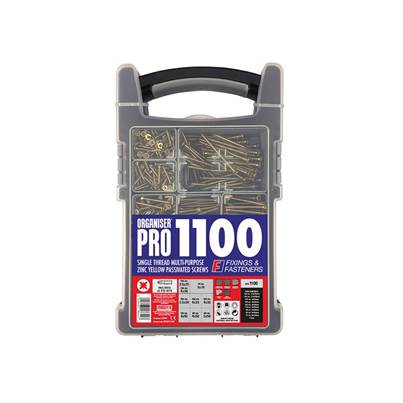 ForgeFix Organiser Pro Multi-Purpose Screws ZYP 1100 Screws