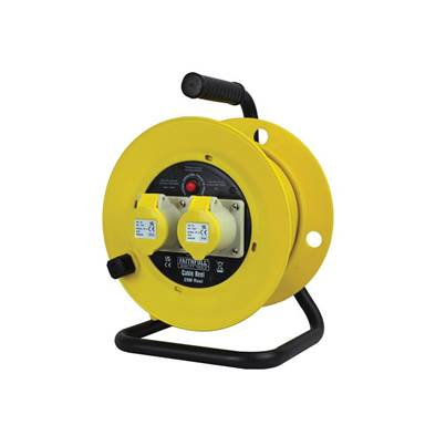 Faithfull Power Plus Cable Reels, 110 Volt 16 Amp