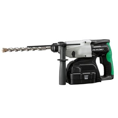 HiKOKI DH24DVC SDS Plus Hammer Drill 3-Mode 24V 2 x 2.0Ah NiMH
