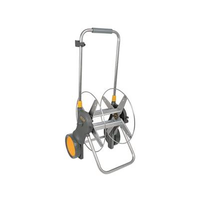 Hozelock 2460 90m Assembled Metal Hose Cart ONLY