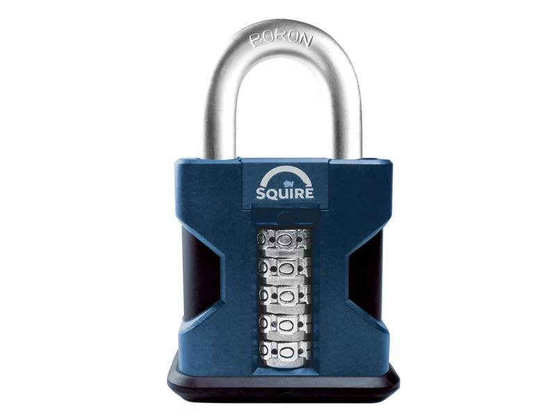 SS50 Hi-Security Combi Padlock 50mm Open Shackle