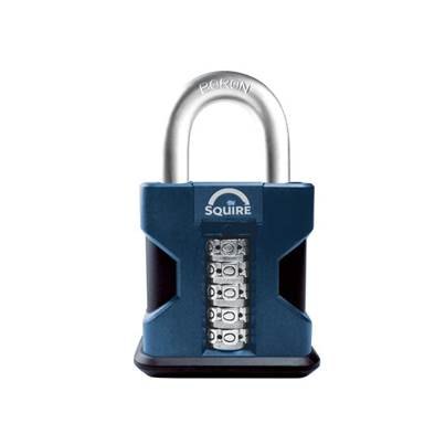 Henry Squire SS50 Hi-Security Combi Padlock 50mm Open Shackle