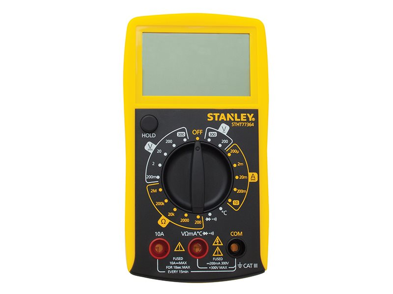 Stanley Intelli Tools AC/DC Digital Multimeter