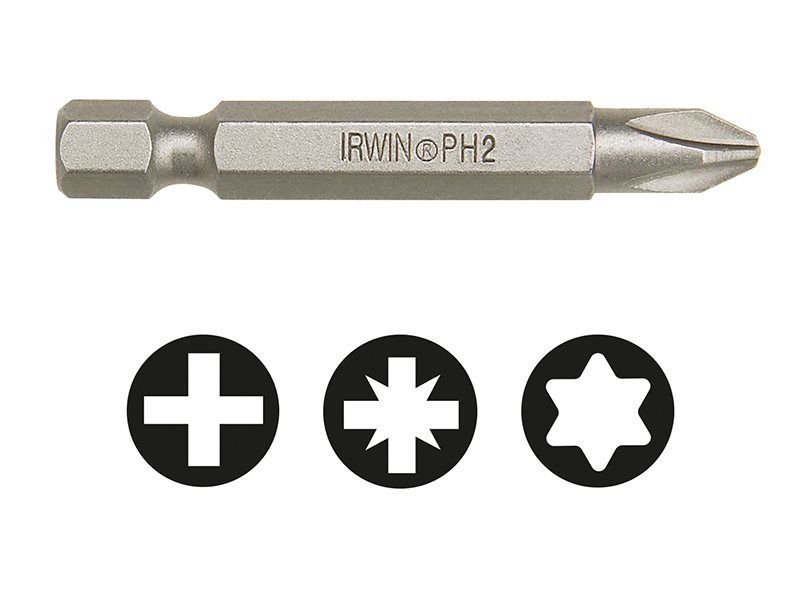 Phillips Power Screwdriver Bits