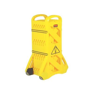 IRWIN Portable Mobile Barrier Yellow 9S11