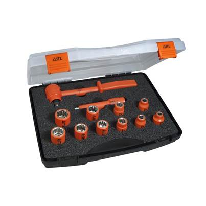 ITL Insulated Insulated Socket Set of 12 1/2in Drive