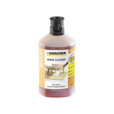 Karcher Wood Cleaner 3-In-1 Plug & Clean (1 Litre)