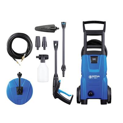 Kew Nilfisk Alto C120 7.6 PCAD X-TRA Pressure Washer with Maintenance Kit 120 bar 240V