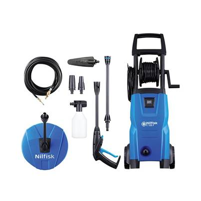 Kew Nilfisk Alto C125.7-6 PCAD X-TRA Pressure Washer with Maintenance Kit 125 bar 240V