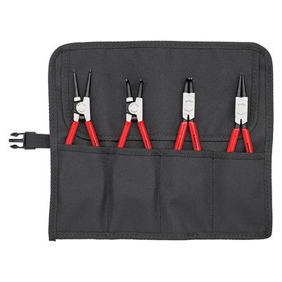 Knipex Circlip Pliers Set in Roll 4 Piece