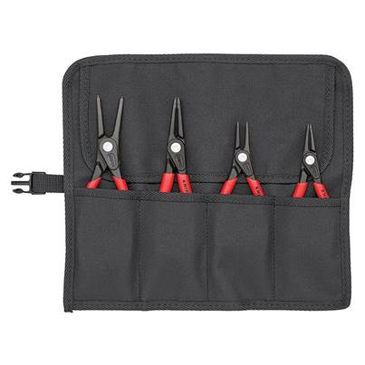 Knipex Precision Circlip Pliers Set in Roll  4 Piece
