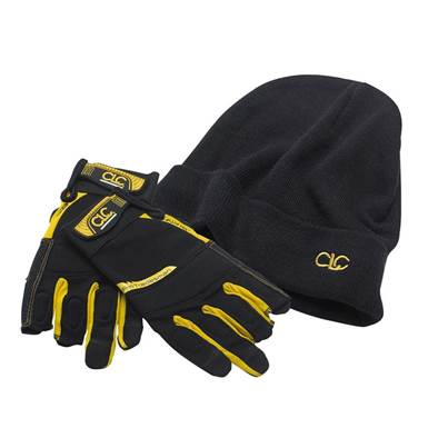 Kuny's CLC ProTradesman Fingerless Gloves + Beanie Hat