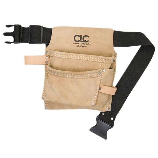 Image of Kuny's IP-489X Nail & Tool Pouch with 3 Pockets
