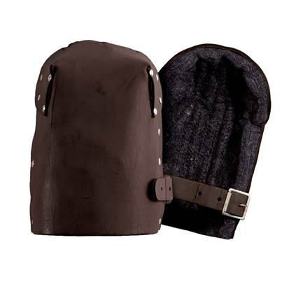 Kuny's KP-299 Heavy-Duty Leather Thick Felt Knee Pads