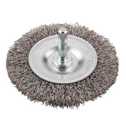 KWB HSS Crimped Wheel Brush Coarse