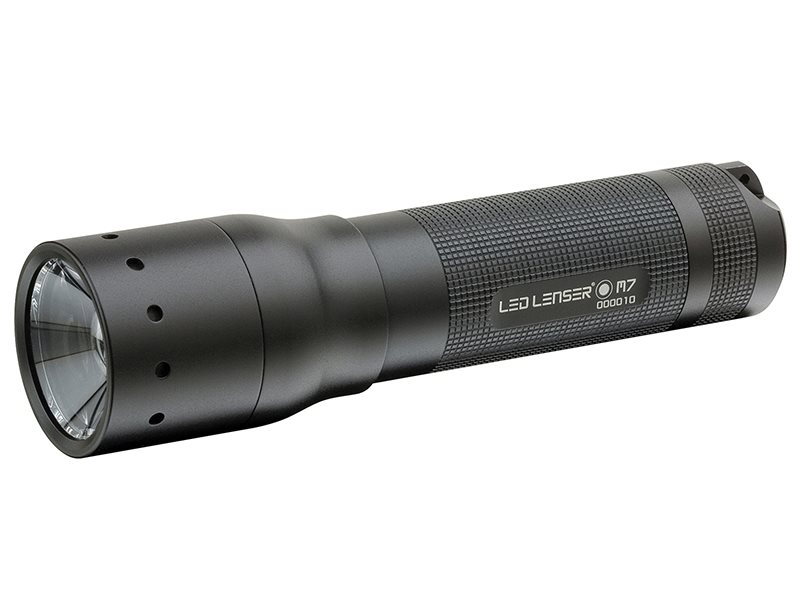 M7R Multi Function Rechargable Torch Black