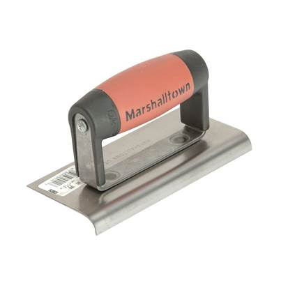Marshalltown M36D Cement Edger Straight End DuraSoft® Handle 6 x 3in