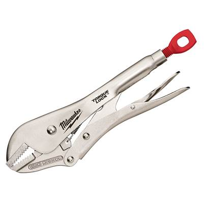Milwaukee Hand Tools TORQUE LOCK™ Straight Jaw Locking Pliers 254mm (10in)