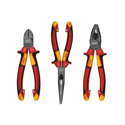 Milwaukee Hand Tools VDE Pliers Set, 3 Piece