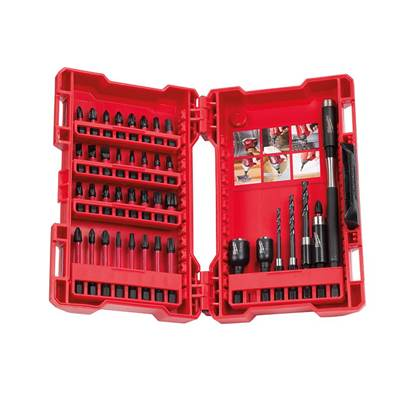 Milwaukee Power Tools GEN II Shockwave™ Impact Duty Assorted Bit Set 40 Piece