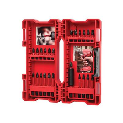 Milwaukee Power Tools GEN II Shockwave™ Impact Duty Assorted Bit Set 24 Piece