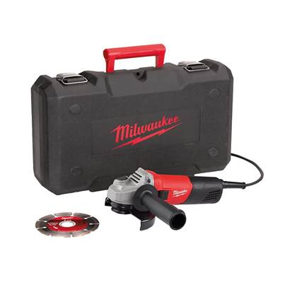 Milwaukee AG800-115 115mm Angle Grinder In Kitbox