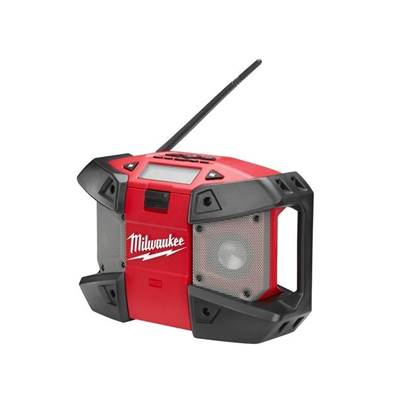 Milwaukee C12 JSR-0 Compact Jobsite Radio 240V & 12V Li-ion Bare Unit