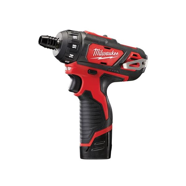 Image of Milwaukee Power Tools M12 BD-202C Sub-Compact Driver 12V 2 x 2.0Ah Li-ion