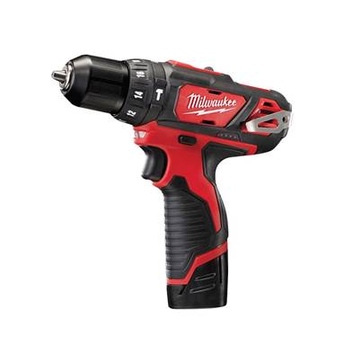 Milwaukee Power Tools M12 BPD-202C Cordless Percussion Drill 12V 2 x 2.0Ah Li-Ion