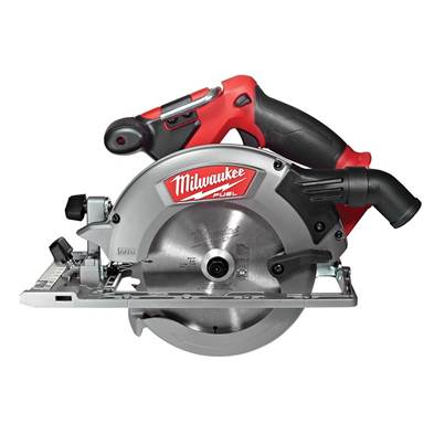 Milwaukee Power Tools M18 CCS55-0 FUEL™ Circular Saw 165mm 18V Bare Unit