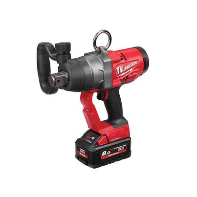 Milwaukee Power Tools M18 ONEFHIWF1-802X FUEL™ ONE-KEY™ 1in Impact Wrench 18V 2 x 8.0Ah Li-ion