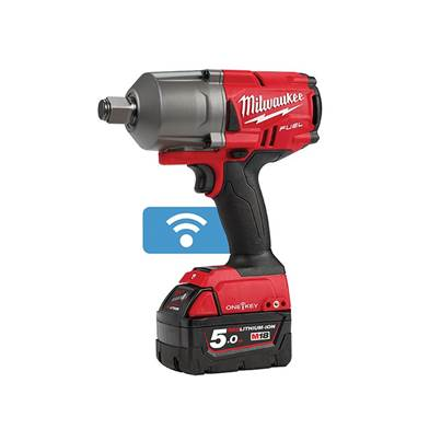 Milwaukee Power Tools M18 ONEFHIWF34-502X FUEL™ ONE-KEY™ 3/4in Impact Wrench 18V 2 x 5.0Ah Li-ion