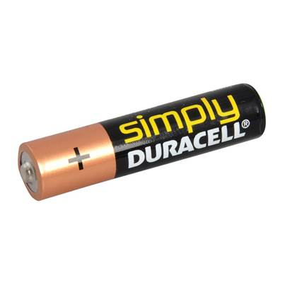 Miscellaneous AAA Duracell Alkaline RePack MN2400 Batteries Pack of 4