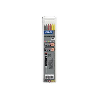 Markal TRADES-MARKER® DRY Assorted Refills (Pack of 6)