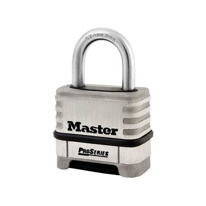 Master Lock ProSeries Stainless Steel 4 Digit Padlock 57mm