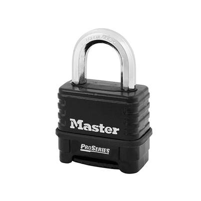 Master Lock ProSeries Die-Cast Zinc Body 4 Digit Padlock 57mm