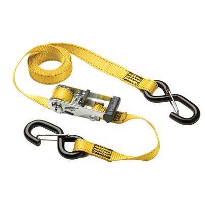 Master Lock Ratchet Tie-Down S Hooks 3m 2 Piece