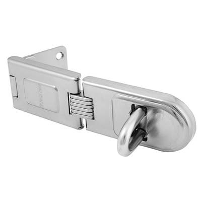 Master Lock Wrought Steel Single Hinged Hasps
