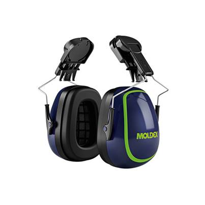 Moldex MX-7 30mm Euro Slot Helmet Mounted Earmuffs SNR 31 dB