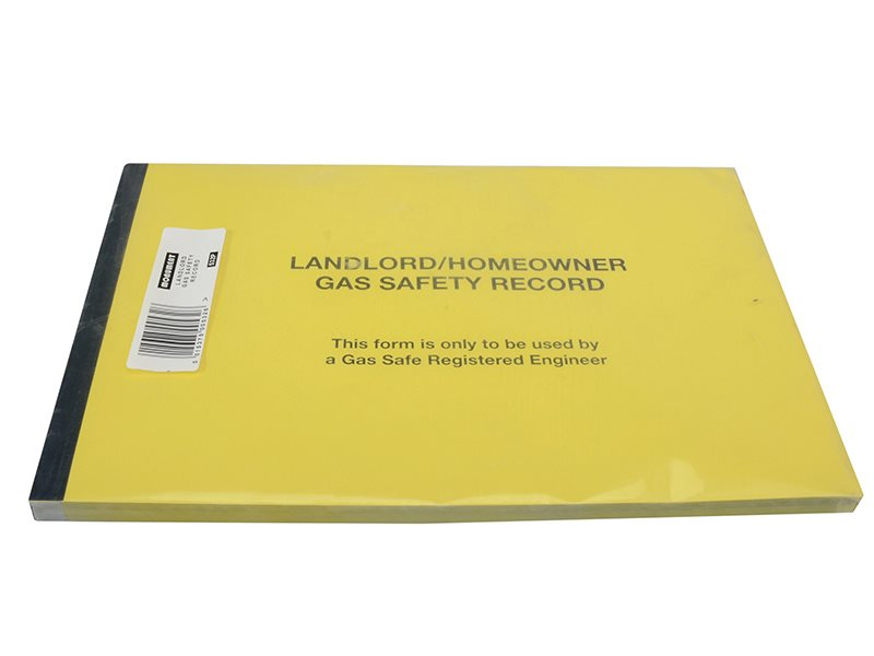 532P Gas Safe® Landlords Gas Safety Record Pad of 50