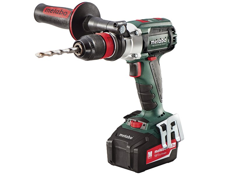 SB18 LTX Brushless Impulse Combi Hammer Drill 18V 2 x 5.2Ah Li-ion
