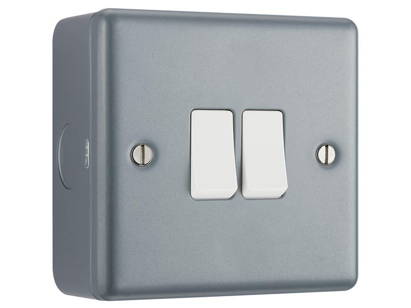 Metal Clad Light Switch